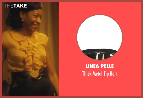 Linea Pelle black belt from Lee Daniels' The Butler seen with Adriane Lenox (Gina)