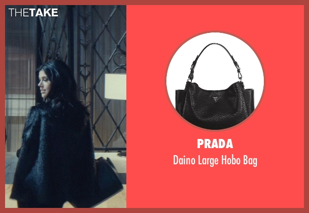 Prada black bag from John Wick seen with Adrianne Palicki (Ms. Perkins)