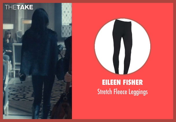 Eileen Fisher black leggings from John Wick seen with Adrianne Palicki (Ms. Perkins)