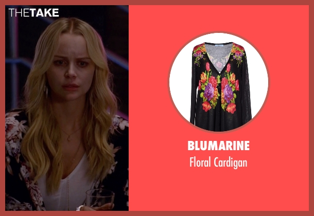 Blumarine black cardigan from American Horror Story seen with Agnetha (Helena Mattsson)
