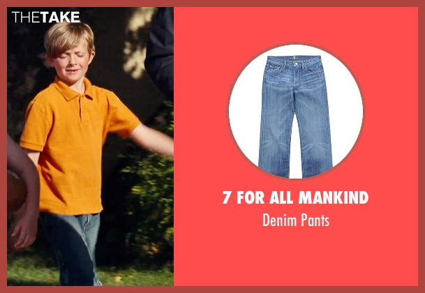 7 For All Mankind blue pants from Cut Bank seen with Aiden Longworth (Mason)