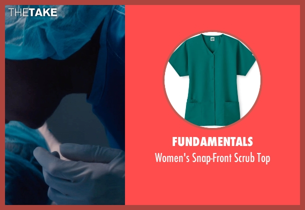 Fundamentals green top from If I Stay seen with Aisha Hinds (Nurse Ramirez)