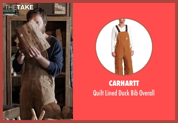 Carhartt brown overall from Popstar: Never Stop Never Stopping seen with Akiva Schaffer (Unknown Character)
