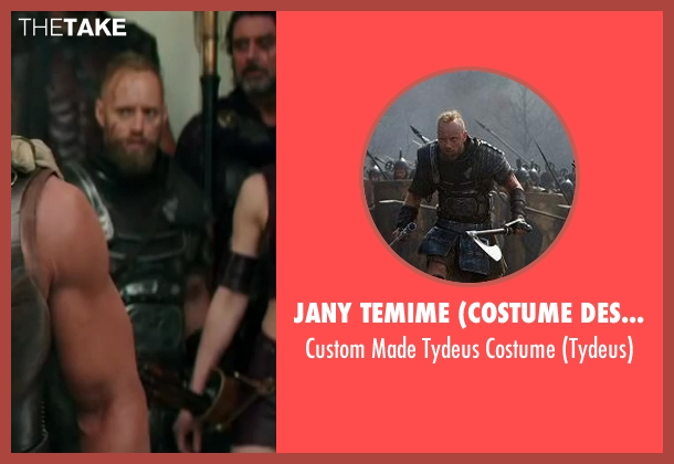 Jany Temime (Costume Designer) costume from Hercules seen with Aksel Hennie (Tydeus)