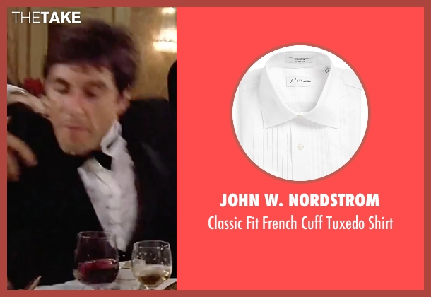 John W. Nordstrom white shirt from Scarface seen with Al Pacino (Tony Montana)