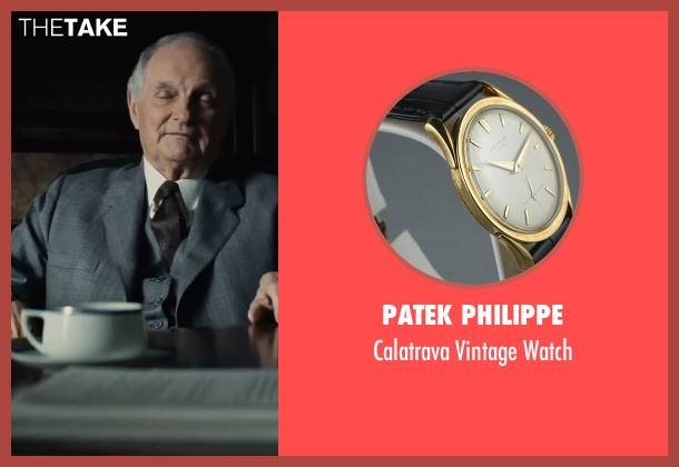 Patek Philippe gold watch from Bridge of Spies seen with Alan Alda (Thomas Watters)