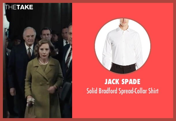 Jack Spade white shirt from Bridge of Spies seen with Alan Alda (Thomas Watters)