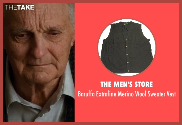 The Men's Store black vest from The Longest Ride seen with Alan Alda (Ira Levinson)