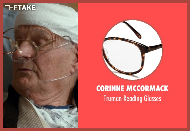 Corinne McCormack glasses from The Longest Ride seen with Alan Alda (Ira Levinson)