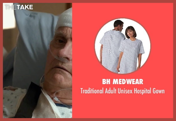 BH Medwear gown from The Longest Ride seen with Alan Alda (Ira Levinson)