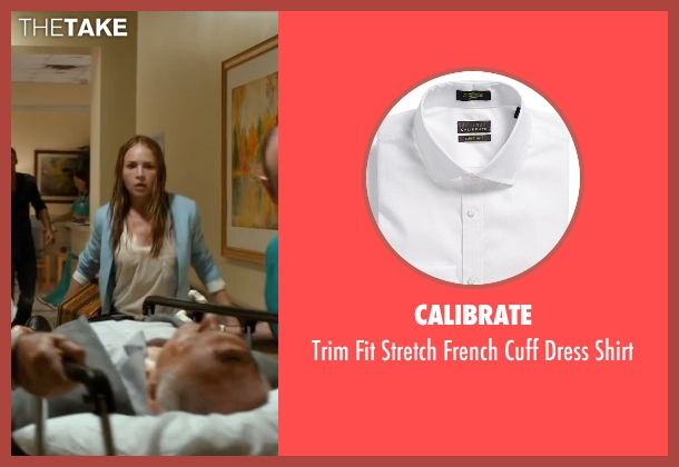 Calibrate white shirt from The Longest Ride seen with Alan Alda (Ira Levinson)