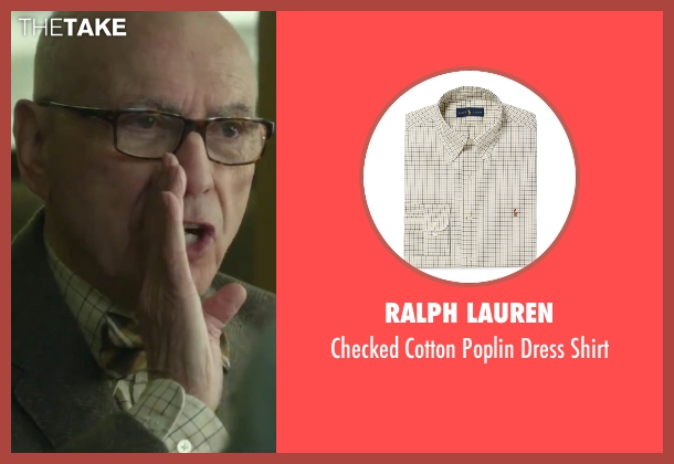 Ralph Lauren beige shirt from Love the Coopers seen with Alan Arkin (Bucky)