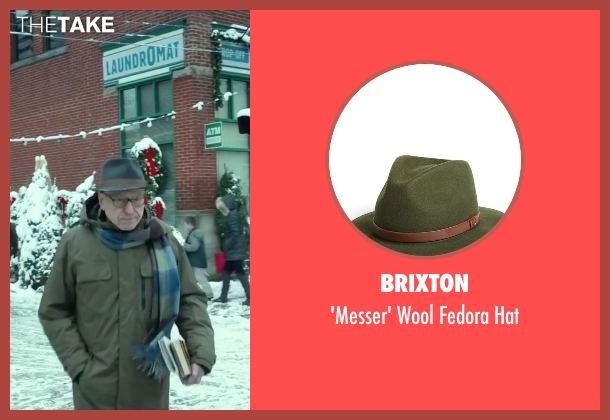 Brixton green hat from Love the Coopers seen with Alan Arkin (Bucky)