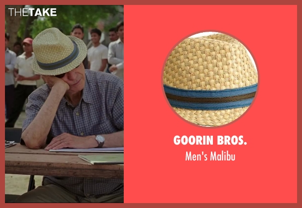 Goorin Bros. malibu from Million Dollar Arm seen with Alan Arkin (Ray Poitevint)