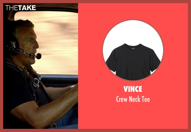 Vince black tee from Need for Speed seen with Alan Pflueger (Flyin' Hawaiian)