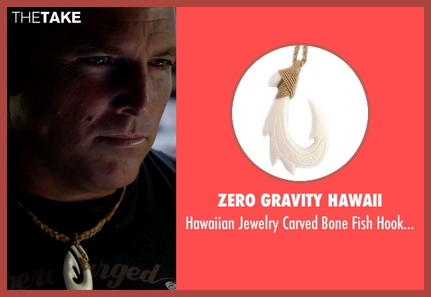 Zero Gravity Hawaii necklace from Need for Speed seen with Alan Pflueger (Flyin' Hawaiian)
