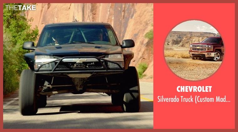 Chevrolet truck from Need for Speed seen with Alan Pflueger (Flyin' Hawaiian)