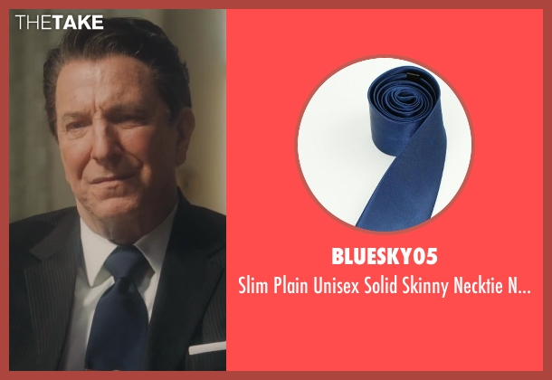 Bluesky05 blue ties from Lee Daniels' The Butler seen with Alan Rickman (Ronald Reagan)
