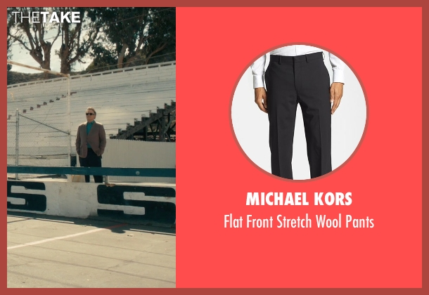 Michael Kors black pants from Drive seen with Albert Brooks (Bernie Rose)