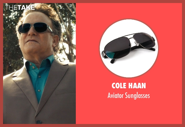 Cole Haan black sunglasses from Drive seen with Albert Brooks (Bernie Rose)