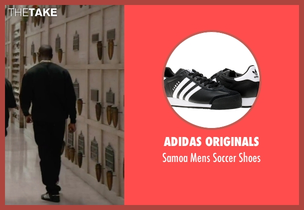 Adidas Originals black shoes from Straight Outta Compton seen with Aldis Hodge (MC Ren)