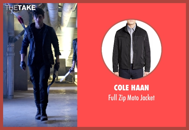 Cole Haan black jacket from Shadowhunters seen with Alec Lightwood (Matthew Daddario)