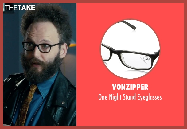 Vonzipper black eyeglasses from Survivor seen with Alex Beckett (Howie)