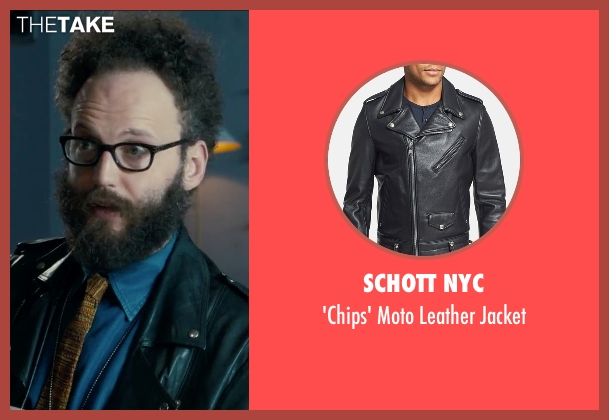 Schott NYC black jacket from Survivor seen with Alex Beckett (Howie)