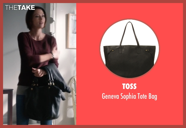 Toss black bag from Supergirl seen with Alex Danvers (Chyler Leigh)