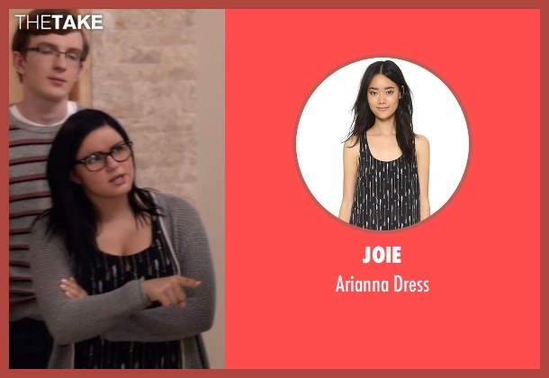 Joie black dress from Modern Family seen with Alex Dunphy  (Ariel Winter)