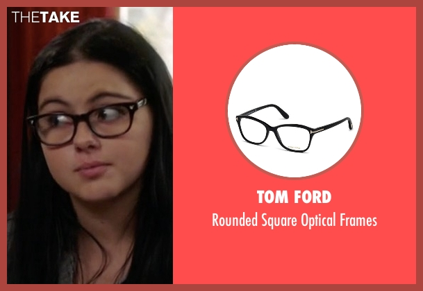 Tom Ford black frames from Modern Family seen with Alex Dunphy  (Ariel Winter)