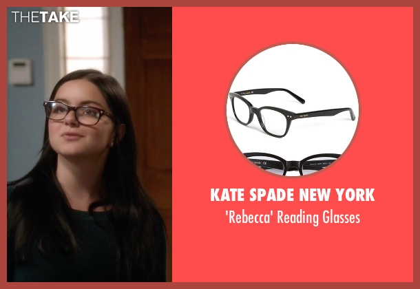 Kate Spade New York black glasses from Modern Family seen with Alex Dunphy  (Ariel Winter)