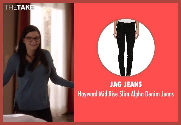 Jag Jeans black jeans from Modern Family seen with Alex Dunphy  (Ariel Winter)