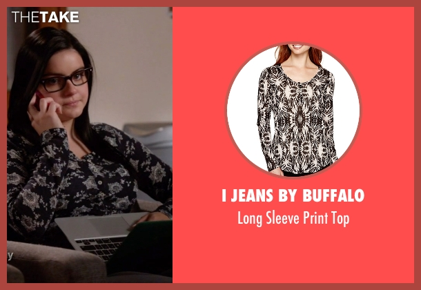 I Jeans By Buffalo black top from Modern Family seen with Alex Dunphy  (Ariel Winter)