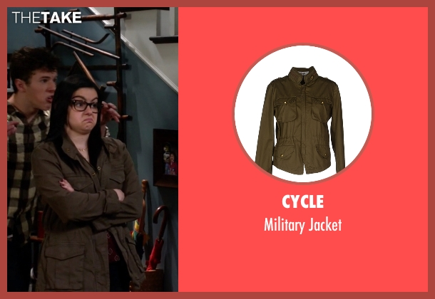Cycle brown jacket from Modern Family seen with Alex Dunphy  (Ariel Winter)