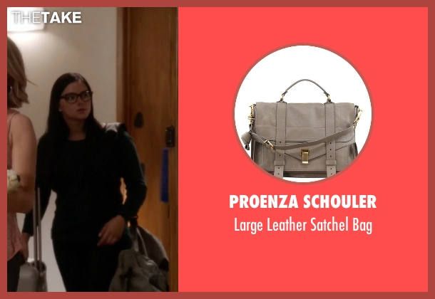 Proenza Schouler gray bag from Modern Family seen with Alex Dunphy  (Ariel Winter)