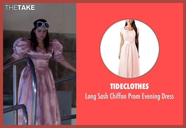 Tideclothes pink dress from Modern Family seen with Alex Dunphy  (Ariel Winter)