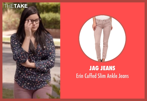 Jag Jeans purple jeans from Modern Family seen with Alex Dunphy  (Ariel Winter)
