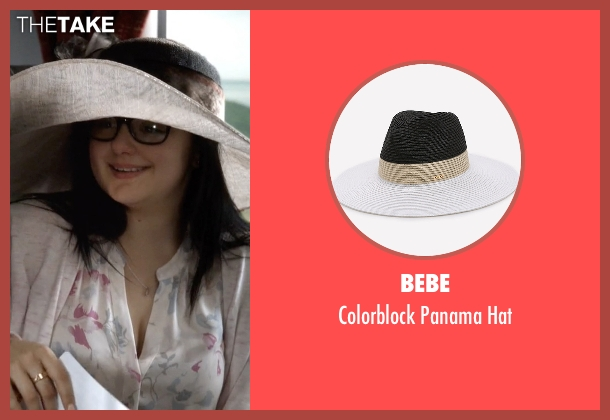 Bebe white hat from Modern Family seen with Alex Dunphy  (Ariel Winter)