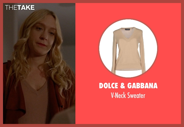 Dolce & Gabbana beige sweater from American Horror Story seen with Alex Lowe (Chloë Sevigny)