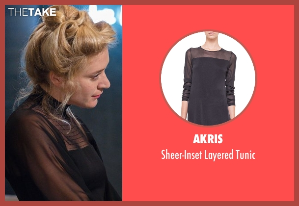 Akris black tunic from American Horror Story seen with Alex Lowe (Chloë Sevigny)