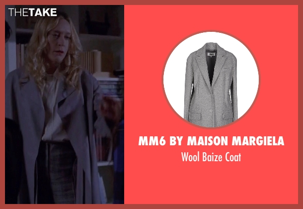 MM6 by Maison Margiela gray coat from American Horror Story seen with Alex Lowe (Chloë Sevigny)
