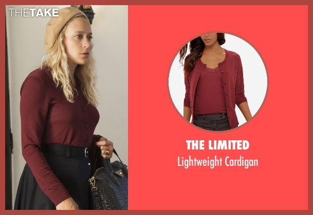 The Limited red cardigan from American Horror Story seen with Alex Lowe (Chloë Sevigny)