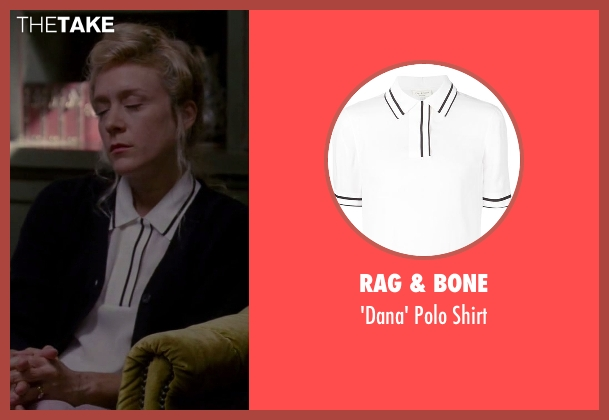 Rag & Bone white shirt from American Horror Story seen with Alex Lowe (Chloë Sevigny)