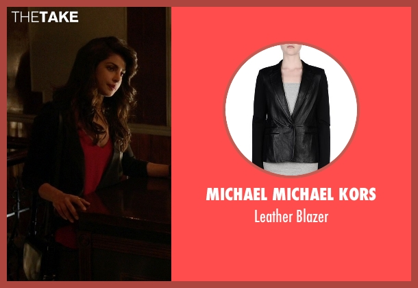Michael Michael Kors black blazer from Quantico seen with Alex Parrish (Priyanka Chopra)