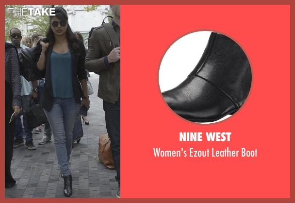 Nine West black boot from Quantico seen with Alex Parrish (Priyanka Chopra)