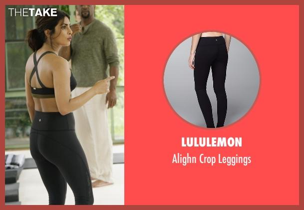 Lululemon black leggings from Quantico seen with Alex Parrish (Priyanka Chopra)
