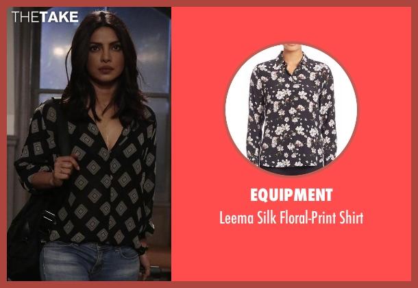 Equipment black shirt from Quantico seen with Alex Parrish (Priyanka Chopra)