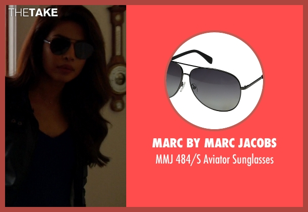 Marc By Marc Jacobs black sunglasses from Quantico seen with Alex Parrish (Priyanka Chopra)