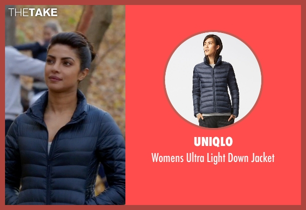 Perfect Moment blue jacket from Quantico seen with Alex Parrish (Priyanka Chopra)